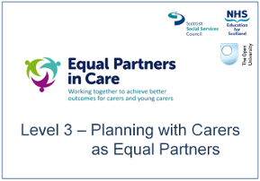 Planning with Carers as Equal Partners