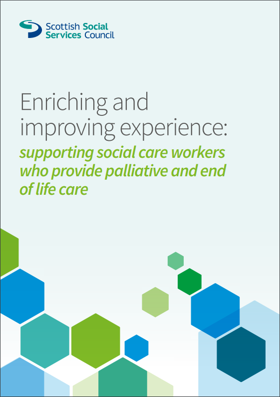 The front cover of the Enriching and Improving Experience document.